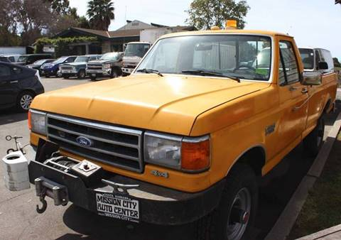 1989 Ford F-250 for sale at Mission City Auto in Goleta CA
