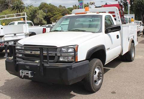 2003 Chevrolet Silverado 3500 for sale at Mission City Auto in Goleta CA