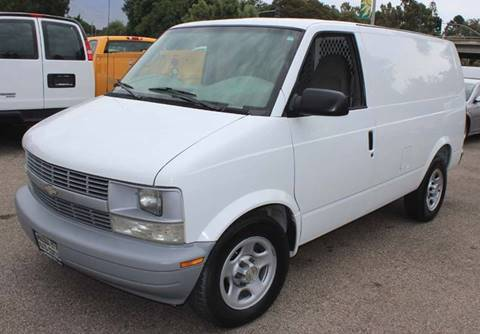 2003 Chevrolet Astro Cargo for sale at Mission City Auto in Goleta CA
