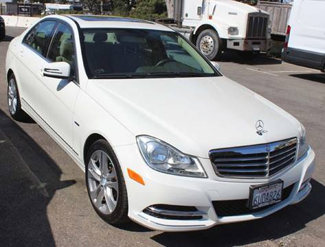2012 Mercedes-Benz C-Class for sale at Mission City Auto in Goleta CA
