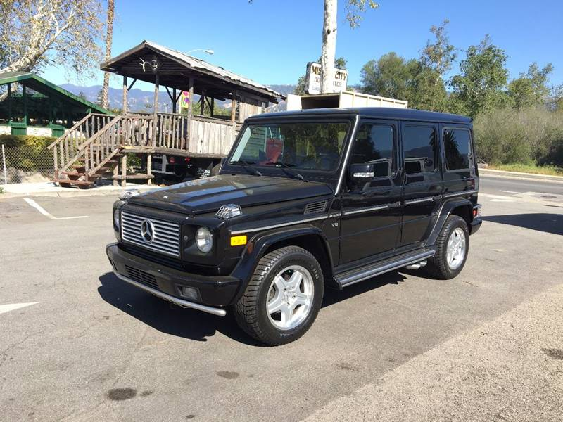 2003 Mercedes-Benz G-Class for sale at Mission City Auto in Goleta CA