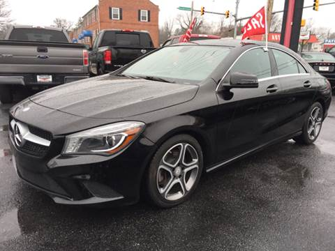 Used mercedes benz cla for sale in maryland for Mercedes benz for sale in md