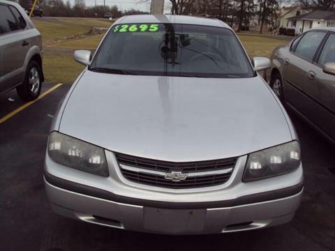 2001 Chevrolet Impala for sale in Cortland, OH