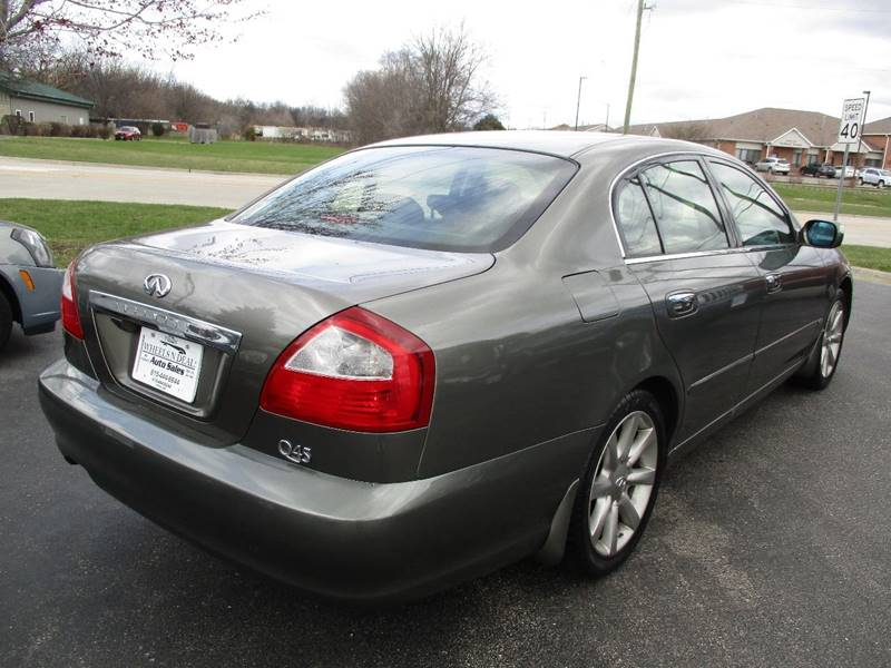 2004 Infiniti Q45 Luxury 4dr Sedan - Crystal Lake IL