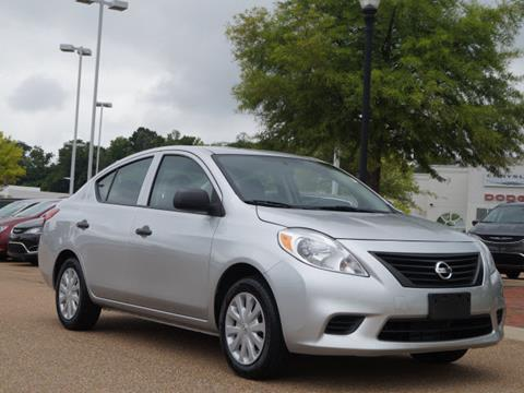 2014 Nissan Versa for sale in Vicksburg, MS