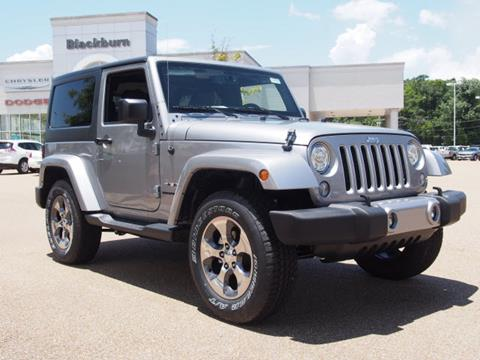 2017 Jeep Wrangler for sale in Vicksburg, MS