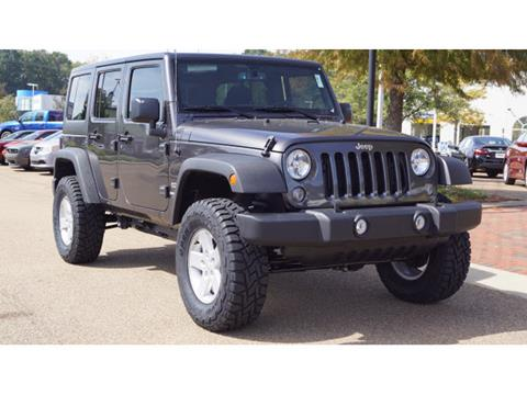 2017 Jeep Wrangler Unlimited for sale in Vicksburg, MS