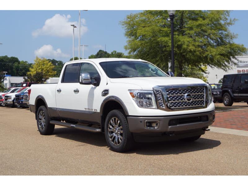 2018 nissan titan xd 4x4 platinum reserve 4dr crew cab diesel in vicksburg ms blackburn motor co. Black Bedroom Furniture Sets. Home Design Ideas