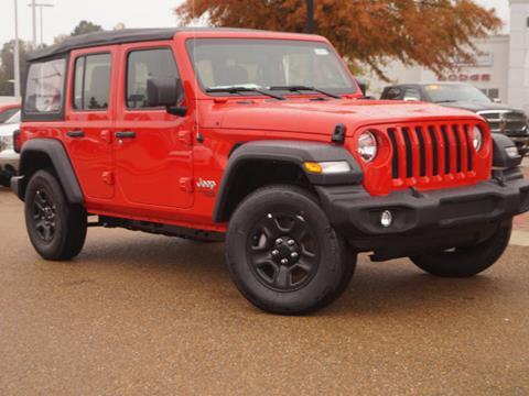2018 Jeep Wrangler Unlimited for sale in Vicksburg, MS