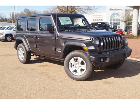 2019 Jeep Wrangler Unlimited for sale in Vicksburg, MS