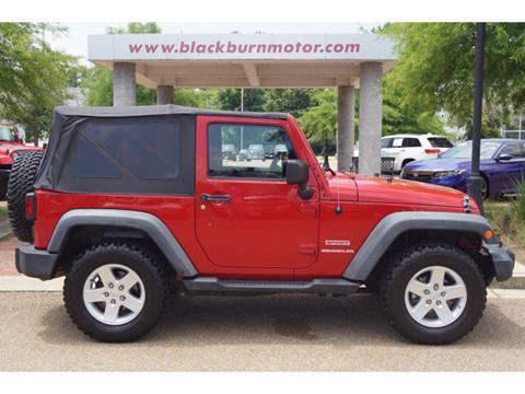 2011 Jeep Wrangler for sale in Vicksburg, MS