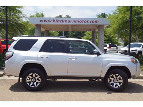 2019 Toyota 4Runner for sale at BLACKBURN MOTOR CO in Vicksburg MS