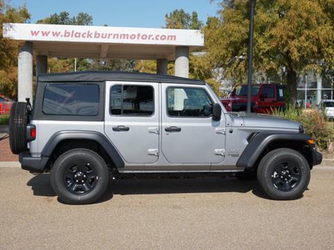 2020 Jeep Wrangler Unlimited for sale at BLACKBURN MOTOR CO in Vicksburg MS