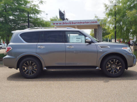 2020 Nissan Armada for sale at BLACKBURN MOTOR CO in Vicksburg MS
