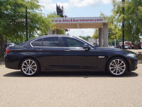 2016 BMW 5 Series for sale at BLACKBURN MOTOR CO in Vicksburg MS