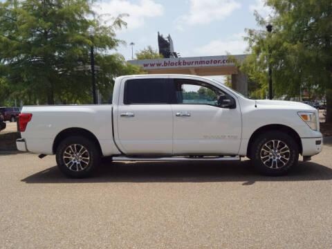 2020 Nissan Titan for sale at BLACKBURN MOTOR CO in Vicksburg MS