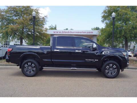 2020 Nissan Titan XD for sale at BLACKBURN MOTOR CO in Vicksburg MS