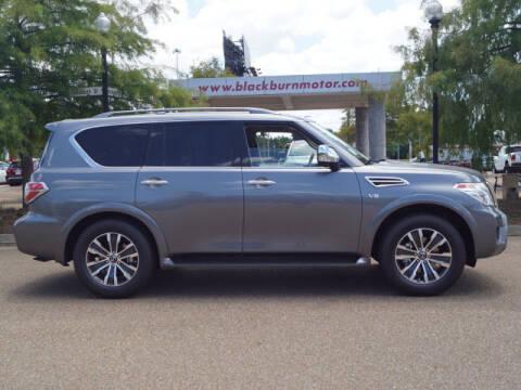 2020 Nissan Armada for sale at BLACKBURN MOTOR CO in Vicksburg MS
