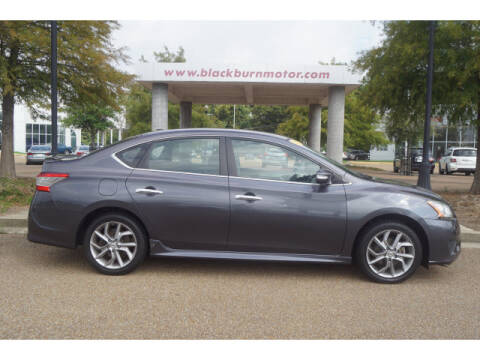 2015 Nissan Sentra for sale at BLACKBURN MOTOR CO in Vicksburg MS