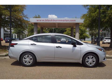 2020 Nissan Versa for sale at BLACKBURN MOTOR CO in Vicksburg MS