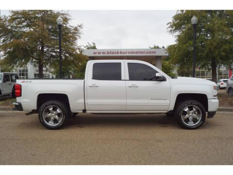 2016 Chevrolet Silverado 1500 for sale at BLACKBURN MOTOR CO in Vicksburg MS
