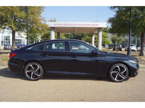 2019 Honda Accord for sale at BLACKBURN MOTOR CO in Vicksburg MS