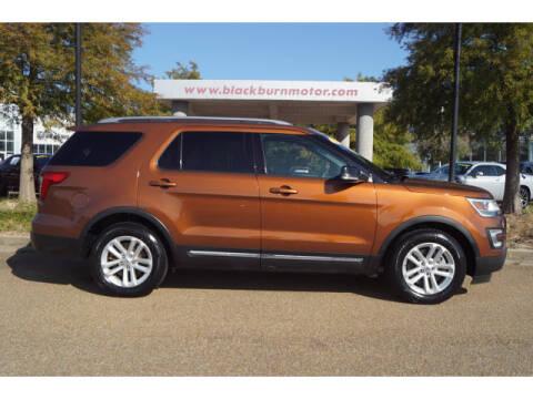 2017 Ford Explorer for sale at BLACKBURN MOTOR CO in Vicksburg MS