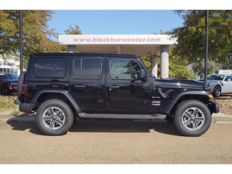 2021 Jeep Wrangler Unlimited for sale at BLACKBURN MOTOR CO in Vicksburg MS