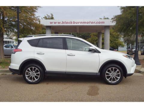 2018 Toyota RAV4 for sale at BLACKBURN MOTOR CO in Vicksburg MS