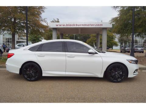 2018 Honda Accord for sale at BLACKBURN MOTOR CO in Vicksburg MS