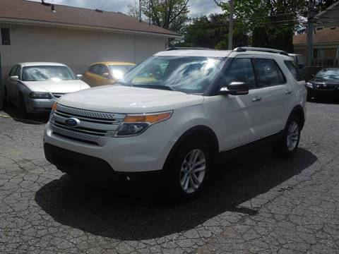 2012 Ford Explorer for sale in Redford, MI