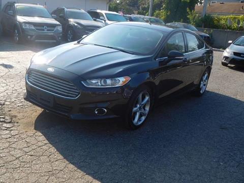 2015 Ford Fusion for sale at All Starz Auto Center Inc in Redford MI