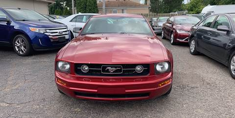 2007 Ford Mustang for sale at All Starz Auto Center Inc in Redford MI
