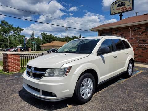2014 Dodge Journey for sale at All Starz Auto Center Inc in Redford MI