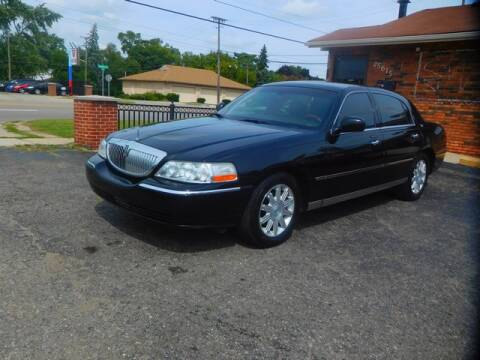 2009 Lincoln Town Car for sale at All Starz Auto Center Inc in Redford MI