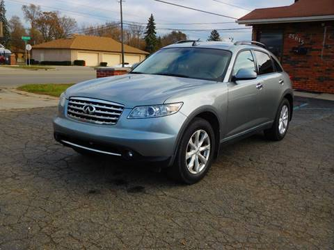 2006 Infiniti FX35 for sale at All Starz Auto Center Inc in Redford MI