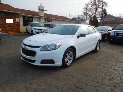 2014 Chevrolet Malibu for sale at All Starz Auto Center Inc in Redford MI