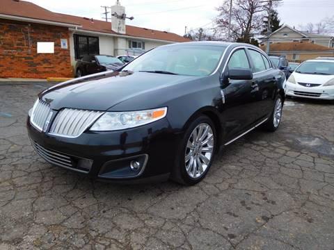 2009 Lincoln MKS for sale at All Starz Auto Center Inc in Redford MI