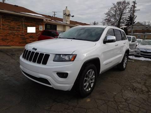 2015 Jeep Grand Cherokee for sale at All Starz Auto Center Inc in Redford MI