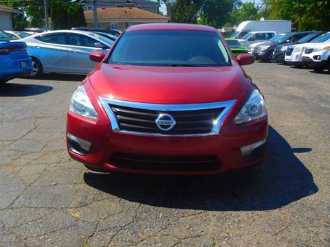 2013 Nissan Altima for sale at All Starz Auto Center Inc in Redford MI