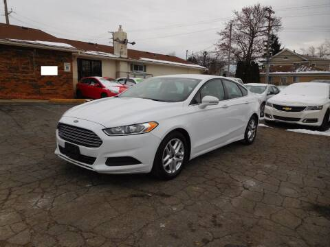2015 Ford Fusion for sale at All Starz Auto Center Inc in Redford MI