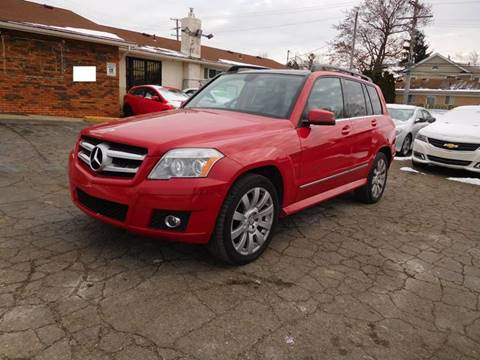 2010 Mercedes-Benz GLK for sale at All Starz Auto Center Inc in Redford MI