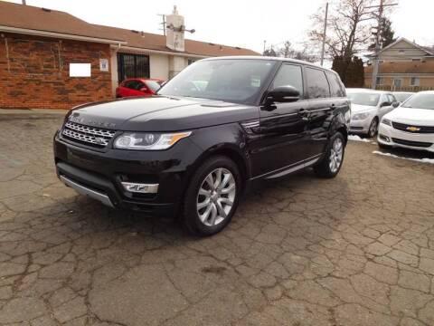 2014 Land Rover Range Rover Sport for sale at All Starz Auto Center Inc in Redford MI