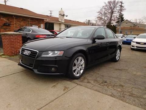 2011 Audi A4 for sale at All Starz Auto Center Inc in Redford MI