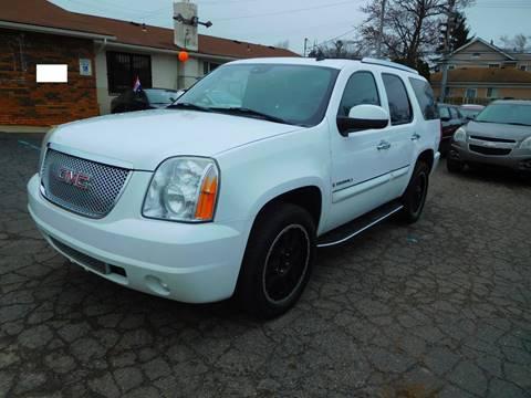 2008 GMC Yukon for sale at All Starz Auto Center Inc in Redford MI