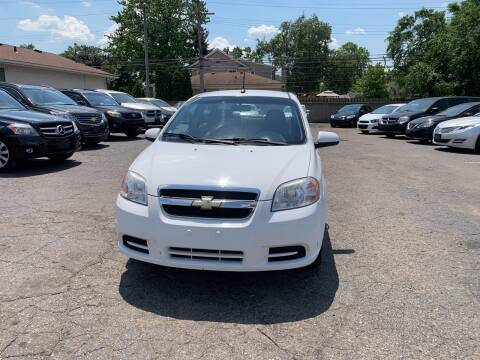 2010 Chevrolet Aveo for sale at All Starz Auto Center Inc in Redford MI