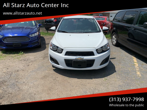 2016 Chevrolet Sonic for sale at All Starz Auto Center Inc in Redford MI