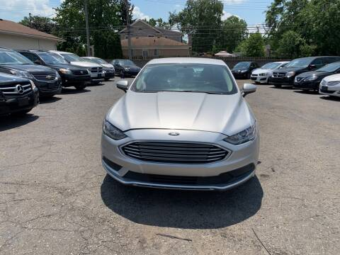 2017 Ford Fusion for sale at All Starz Auto Center Inc in Redford MI