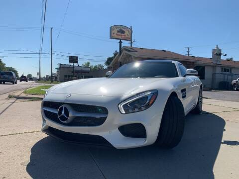 2016 Mercedes-Benz AMG GT for sale at All Starz Auto Center Inc in Redford MI