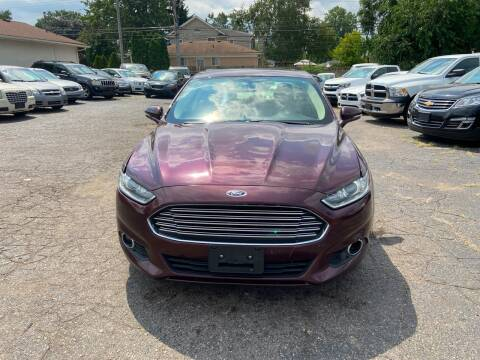 2013 Ford Fusion for sale at All Starz Auto Center Inc in Redford MI